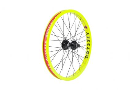 Odyssey Hazard Lite Cassette Wheel - Fluorescent Yellow